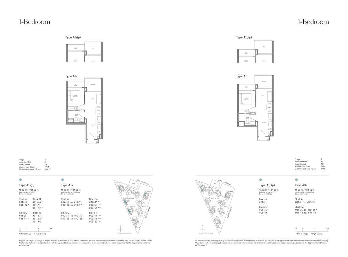 fourth-avenue-residences-1-bedroom-type-a1a