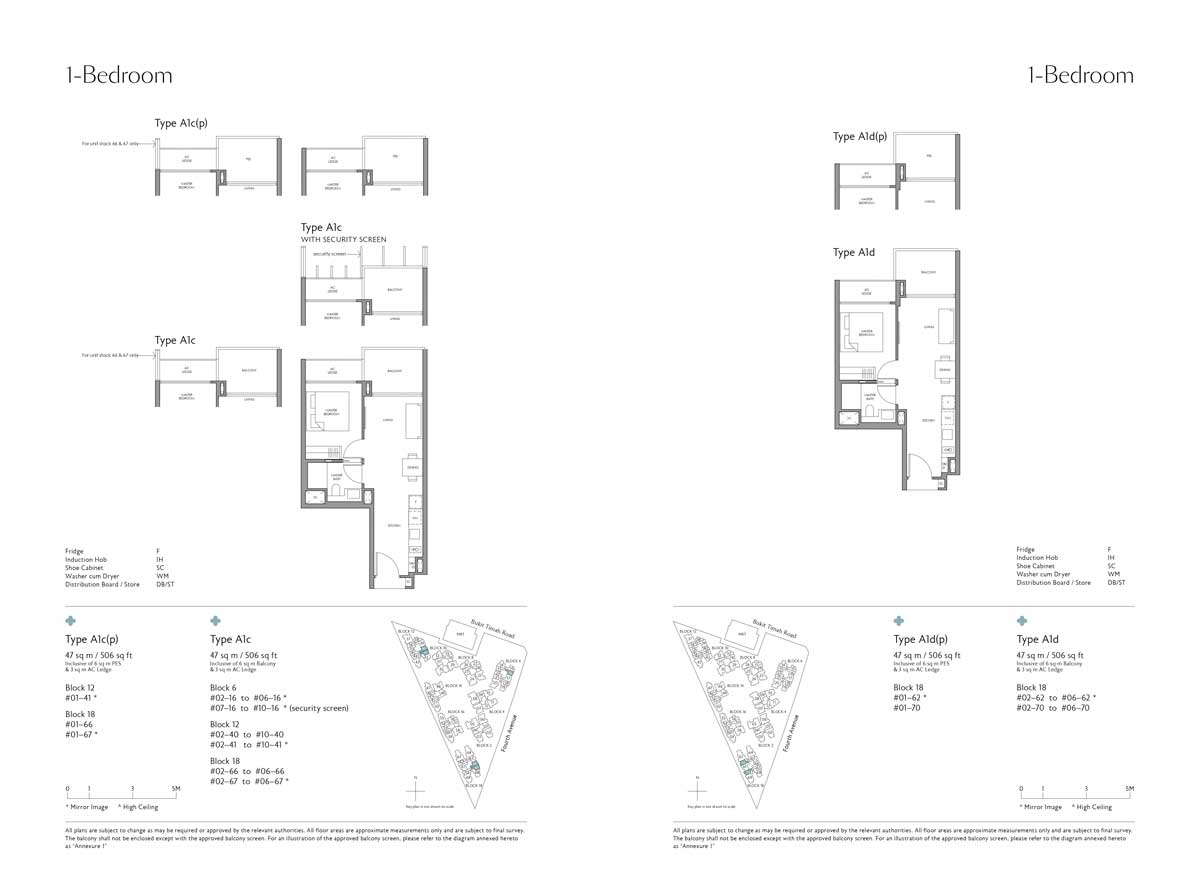 fourth-avenue-residences-1-bedroom-type-a1c