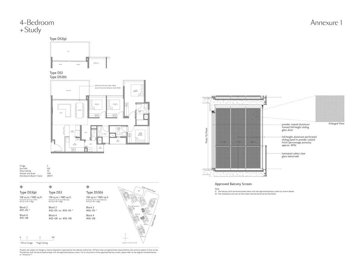 fourth-avenue-residences-4-bedroom-study-type-ds3